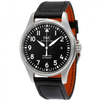 IWC- IWC Pilot's Mark XVIII Automatic Black Dial