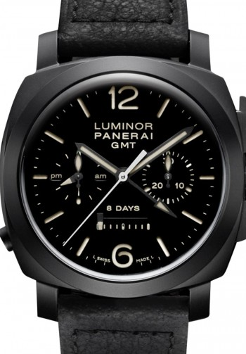 PANERAI - LUMINOR GMT CHRONO MONOPULSANTE PAM317  ‌