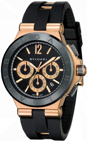 BULGARI - Diagono Gold Chronograph  ‌