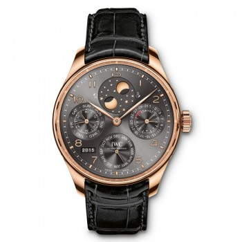 IWC - Portugieser Perpetual Calendar Double Moonphase  ‌